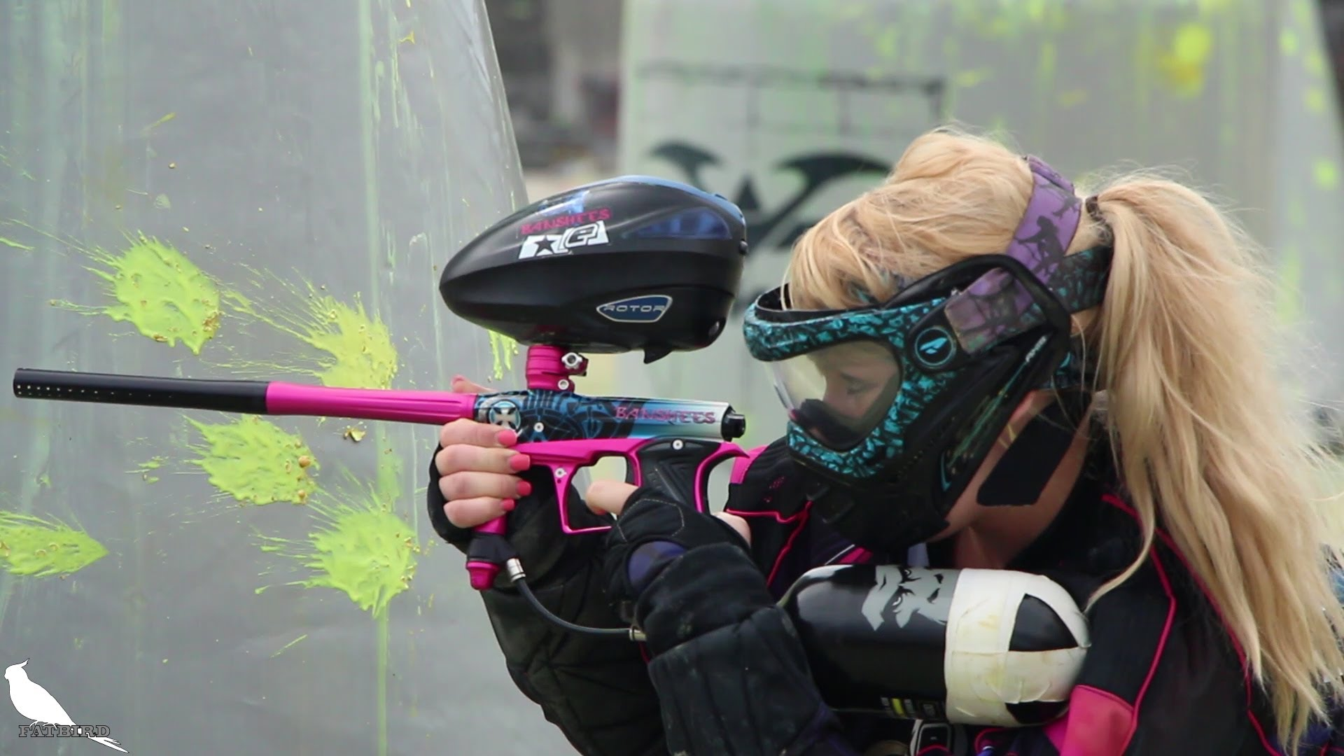 Sexy paintball outfit for girls